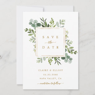 Modern Save the Date Card Rustic Getting Married Card We/'re Engaged Card Fall Wedding Modern Calligraphy Wedding Winter Wedding Suite S001