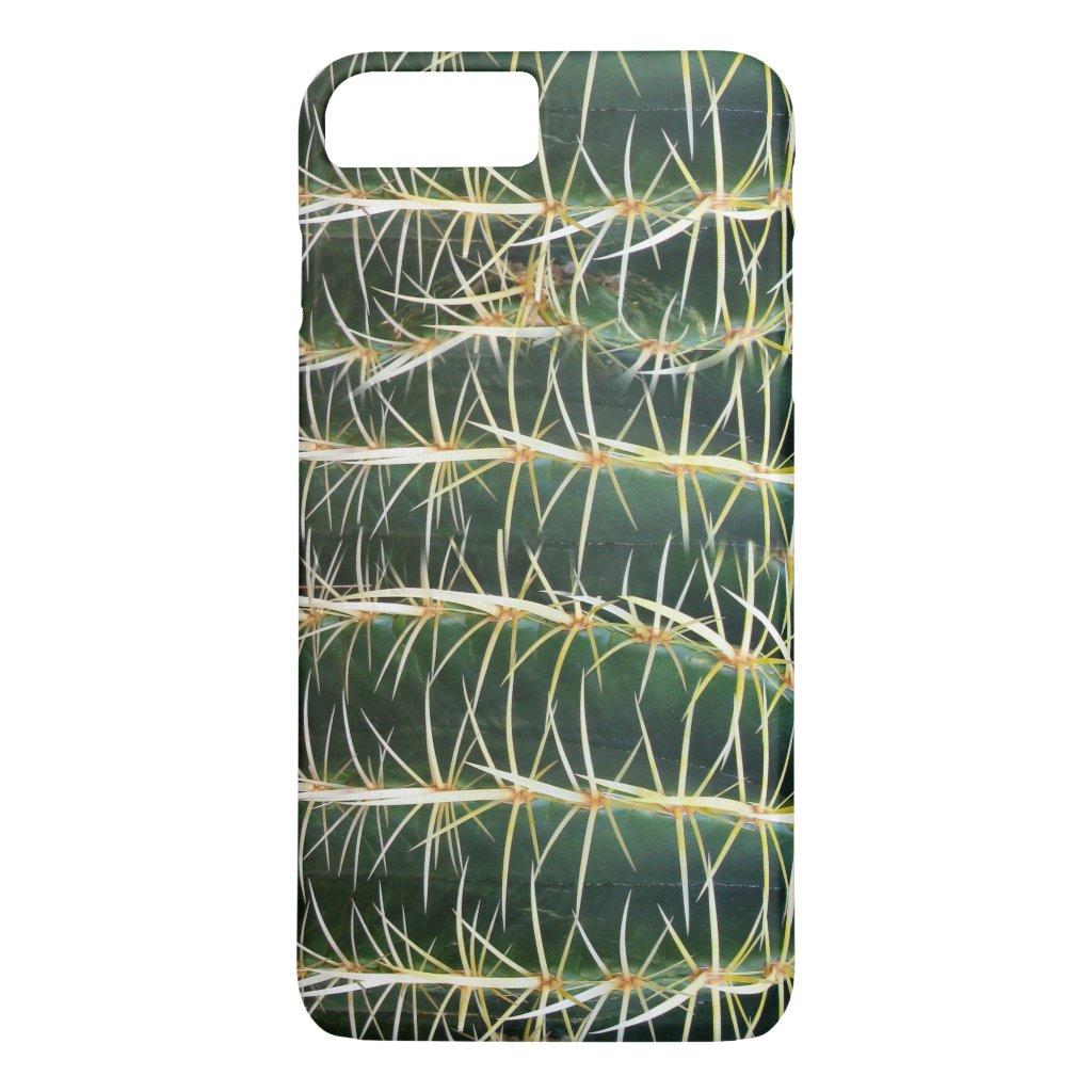 Botanical Green Sphere Cactus Horizontal