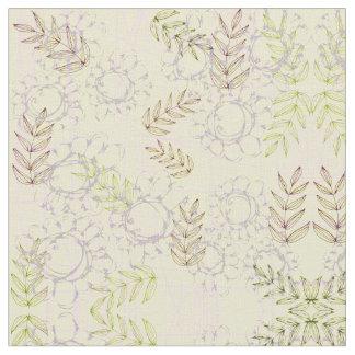 Vintage Botanical Fabric | Zazzle
