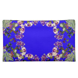Botanical Honeysuckle Flowers Floral Vintage Bag Cosmetic Bags