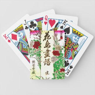 Botanical Illustration 1880 Bicycle Playing Cards