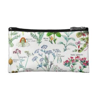 Botanical Illustrations - Larousse Plants Cosmetic Bag