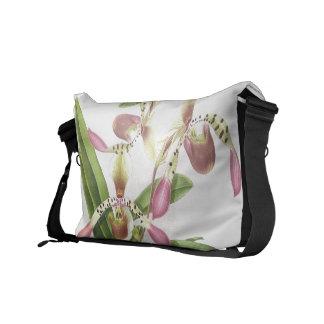 Botanical Ladys Slipper Orchid Flower Floral Bag