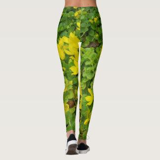 Botanical Leggings Creeping Jenny XS XL Jogging