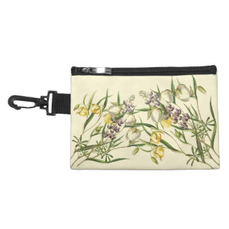 Botanical Lupin Flowers Floral Vintage Bag Accessory Bags