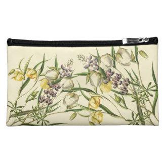 Botanical Lupin Flowers Floral Vintage Bag