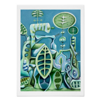 Botanical Machinery - Cool Daddy-O Archival Print