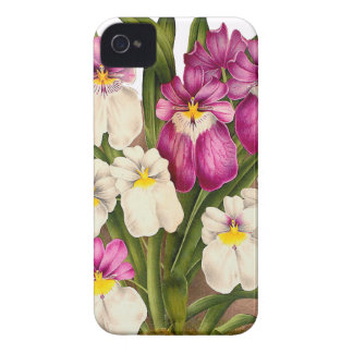 Botanical Orchid Flowers Floral Tropical Case-Mate iPhone 4 Case