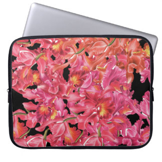 Botanical Orchids Laptop Sleeve
