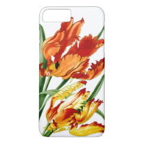 Botanical Parrot Tulip Floral Flower iPhone 7 Case