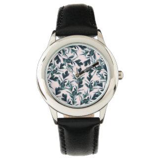 Botanical Pattern Watch