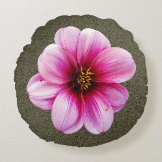 Botanical Pink Dahlia Flower