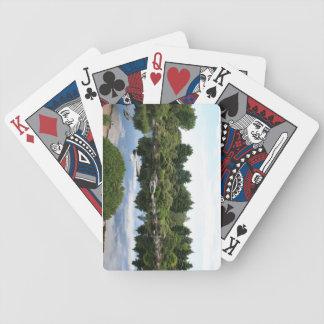 Botanical Pond playing cards