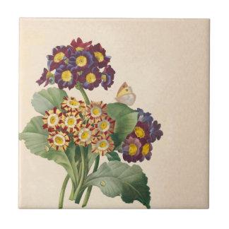 Botanical Primrose Ceramic Tiles