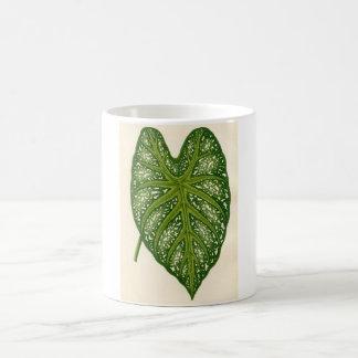 Botanical Print - Caladium Leaf Coffee Mug