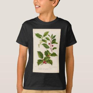 Botanical Print - Mountain & American Holly T-Shirt