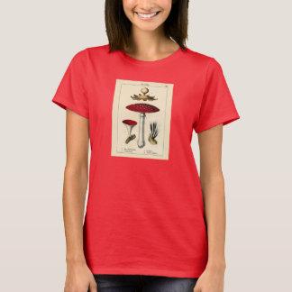 Botanical Print - Mushrooms & Fungi T-Shirt