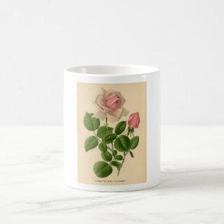 Botanical Print - Tea Rose Coffee Mug