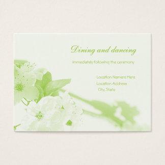 Botanical (Reception Card) Business Card