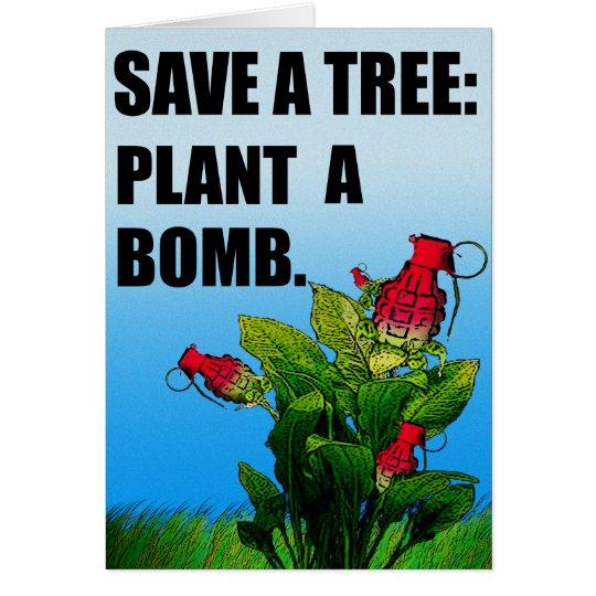 Botanical Revolution Card
