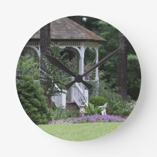 Botanical Series Round Clock