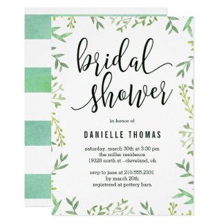 Botanical Touch Bridal Shower Invitation