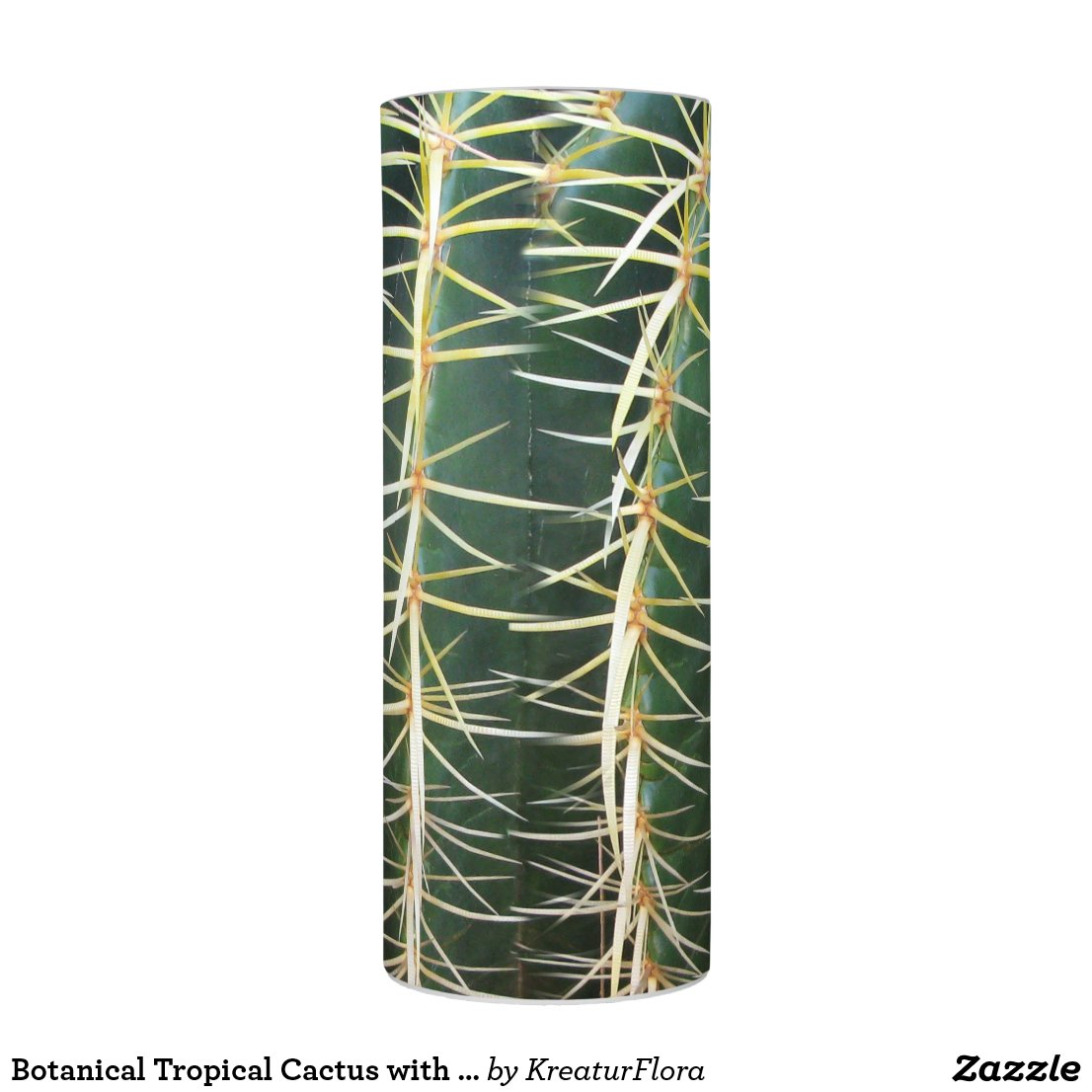 Botanical Tropical Cactus with Pins