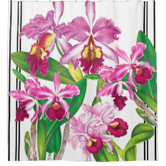 Curtains Ideas botanical shower curtain : Tropical Flowers Shower Curtains | Zazzle
