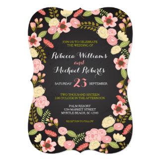 Botanical Wreath Invitation