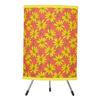 Botanical Yellow Wildflower on any Color