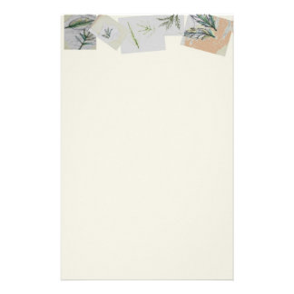 """""""Botanicals Collection"""" Stationery - Linen"""