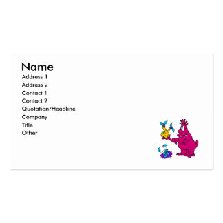 Botanist Alien Double-Sided Standard Business Cards (Pack Of 100)