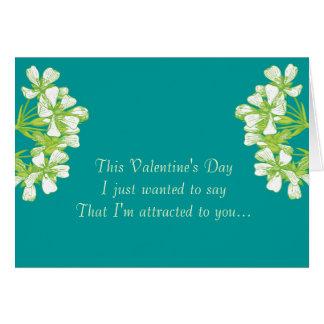 Botanist in Love Card