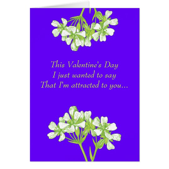Botanist in Love Card