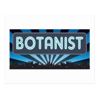 Botanist Marquee Postcard