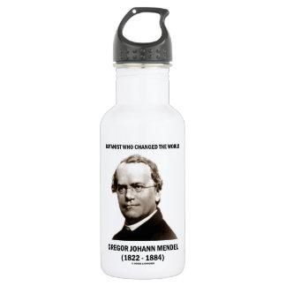 Botanist Who Changed The World Gregor Mendel Stainless Steel Water Bottle