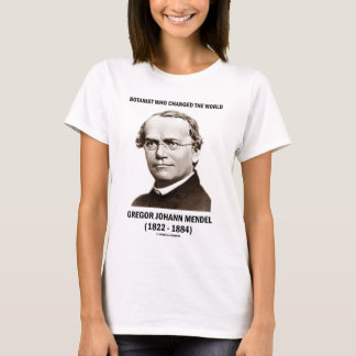 Botanist Who Changed The World Gregor Mendel T-Shirt