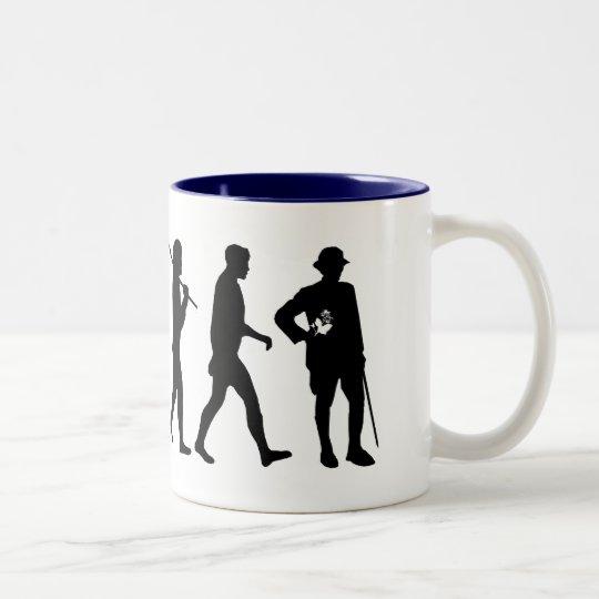 Botanists botany plant life gifts Two-Tone coffee mug