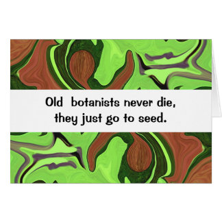 botanists farmers humor card