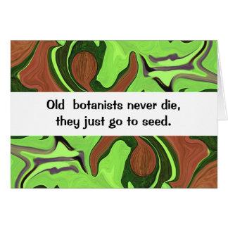 botanists farmers humor greeting card