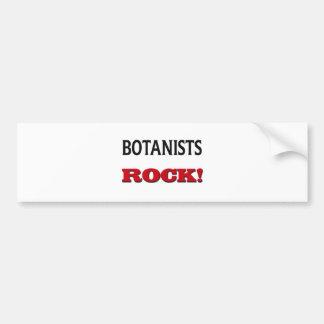 Botanists Rock Bumper Stickers