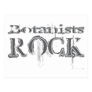 Botanists Rock Postcard