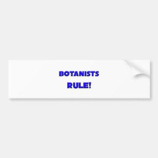 Botanists Rule! Bumper Sticker