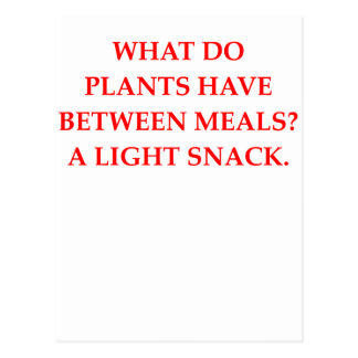 botany joke postcard