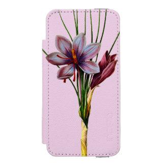 Botany: Saffron Wallet Case For iPhone SE/5/5s