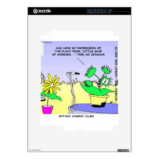 Botany Standup Comedians Funny Skins For iPad 2