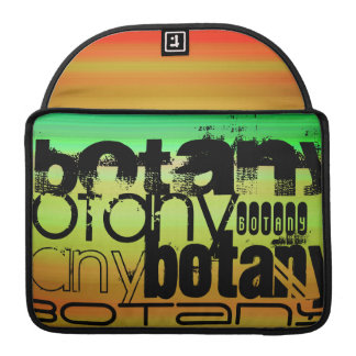 Botany; Vibrant Green, Orange, & Yellow Sleeve For MacBooks