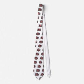 Botas 2 de la piel corbata