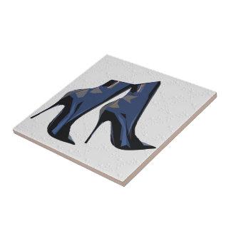 Botas agudas - arte de la bota azulejo cuadrado pequeño
