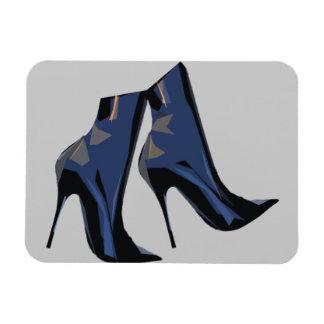Botas agudas - arte de la bota imanes rectangulares